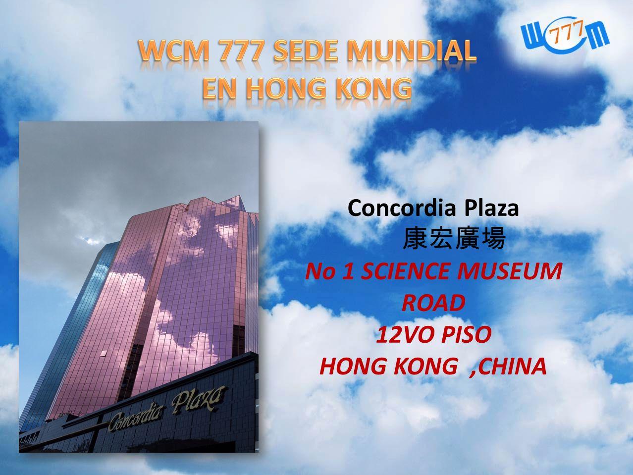 Concordia Plaza No 1 SCIENCE MUSEUM ROAD 12VO PISO HONG KONG,CHINA