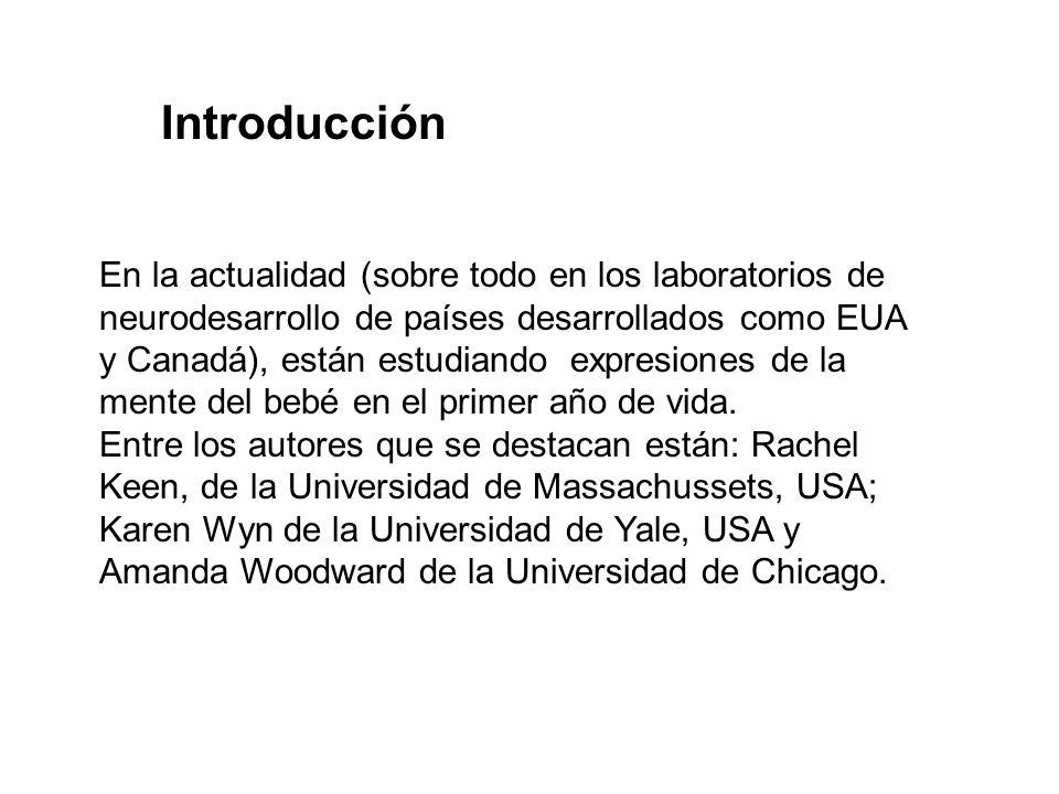 En la actualidad (sobre todo en los laboratorios de neurodesarrollo de países desarrollados como EUA y Canadá), están estudiando expresiones de la men