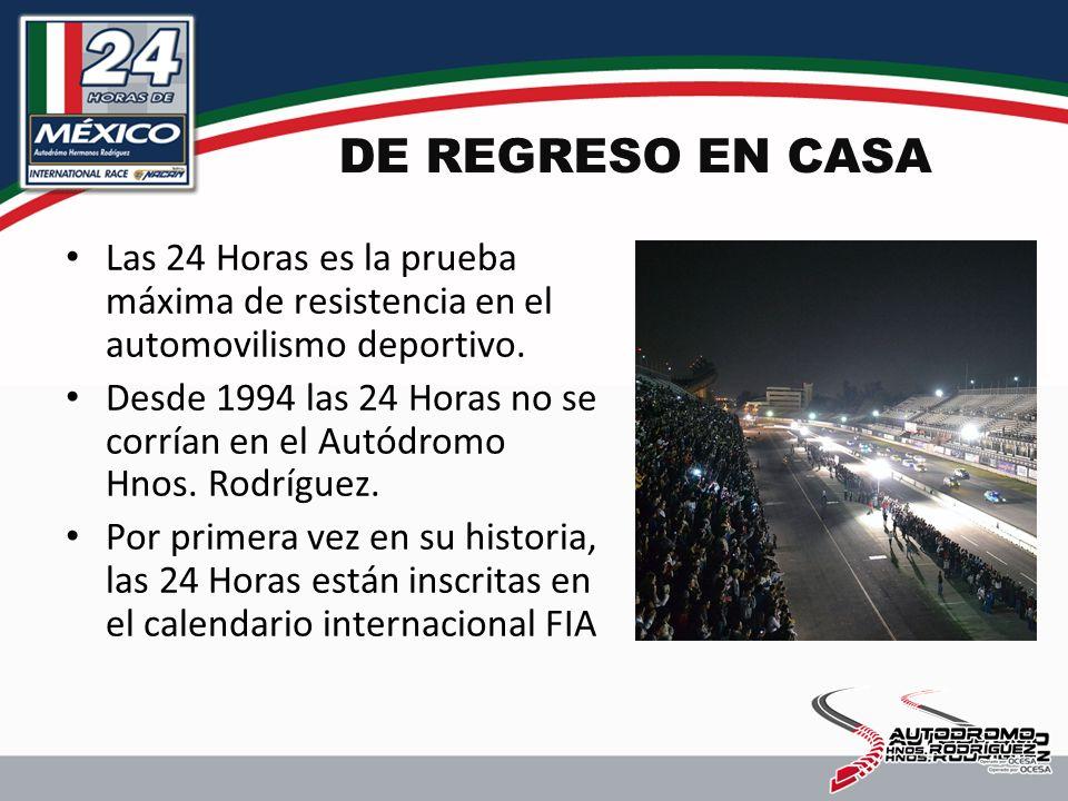 DE REGRESO EN CASA Las 24 Horas es la prueba máxima de resistencia en el automovilismo deportivo.