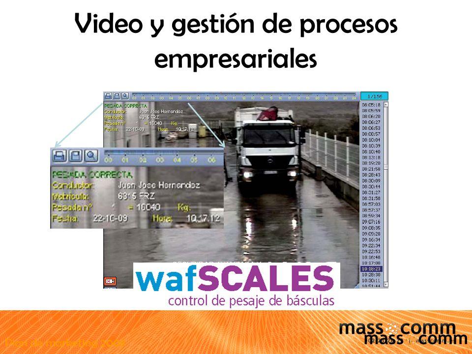 Plan de marketing 2008 Video y gestión de procesos empresariales