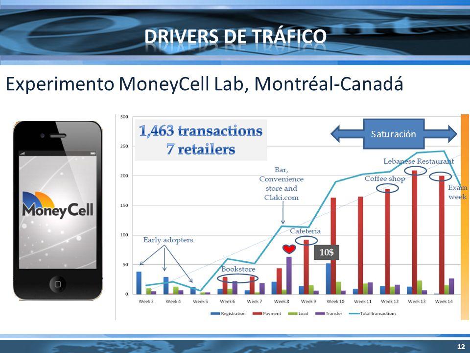 Experimento MoneyCell Lab, Montréal-Canadá 12