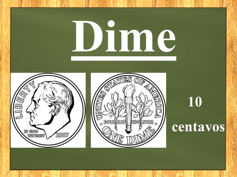 Dime 10 centavos