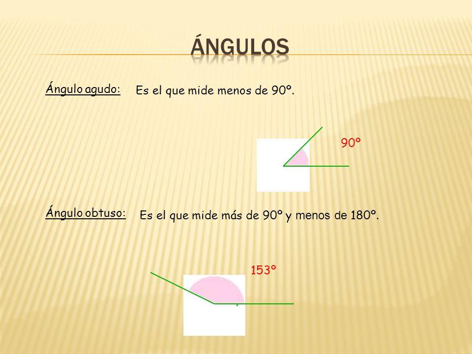 Bisectriz de un ángulo: Semirrecta que divide a un ángulo en dos partes iguales