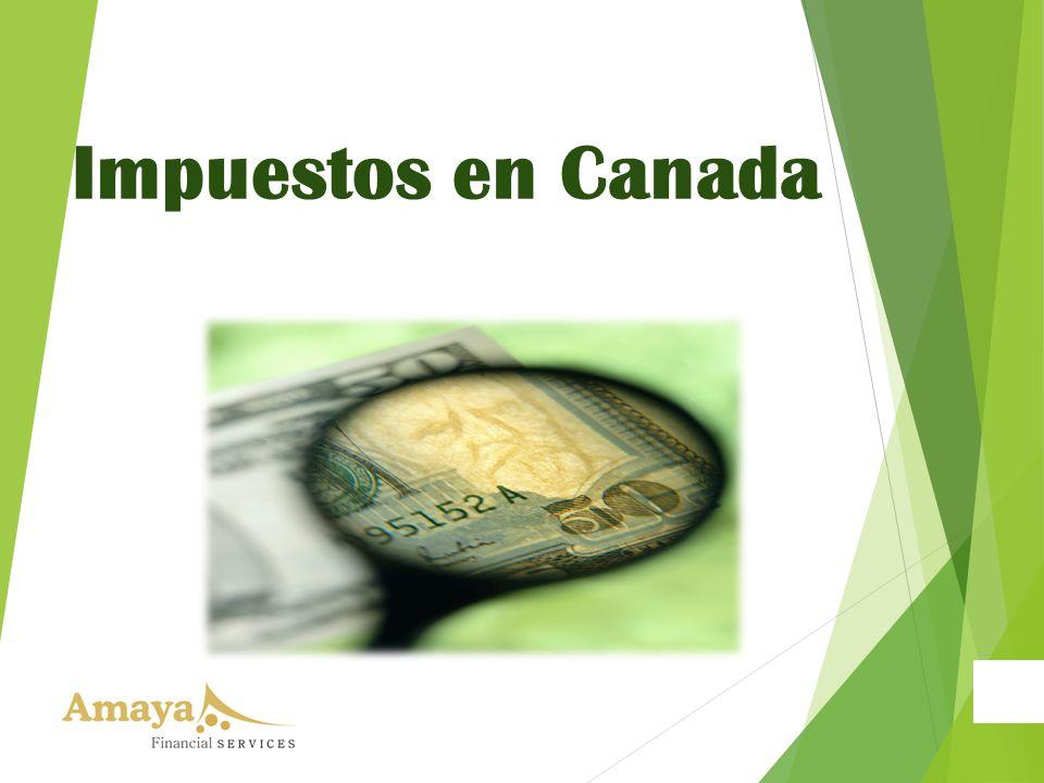 Impuestos en Canada