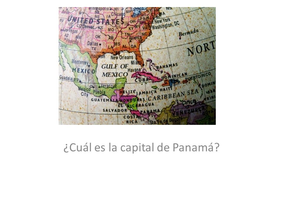 ¿Cuál es la capital de Panamá?