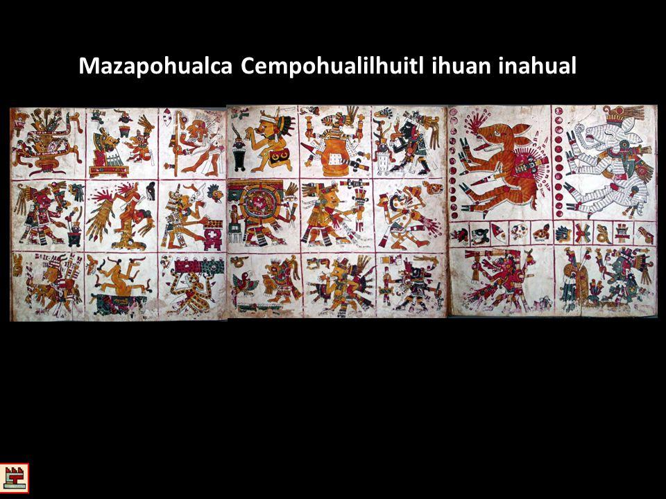 Mazapohualca Cempohualilhuitl ihuan inahual