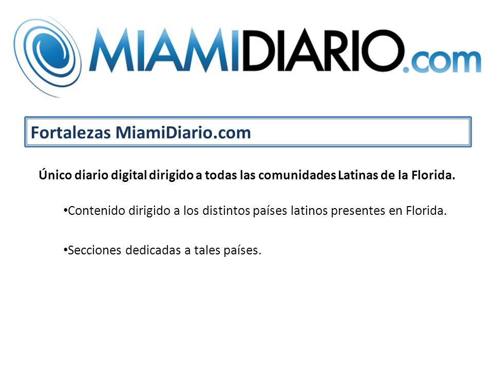 Único diario digital dirigido a todas las comunidades Latinas de la Florida.