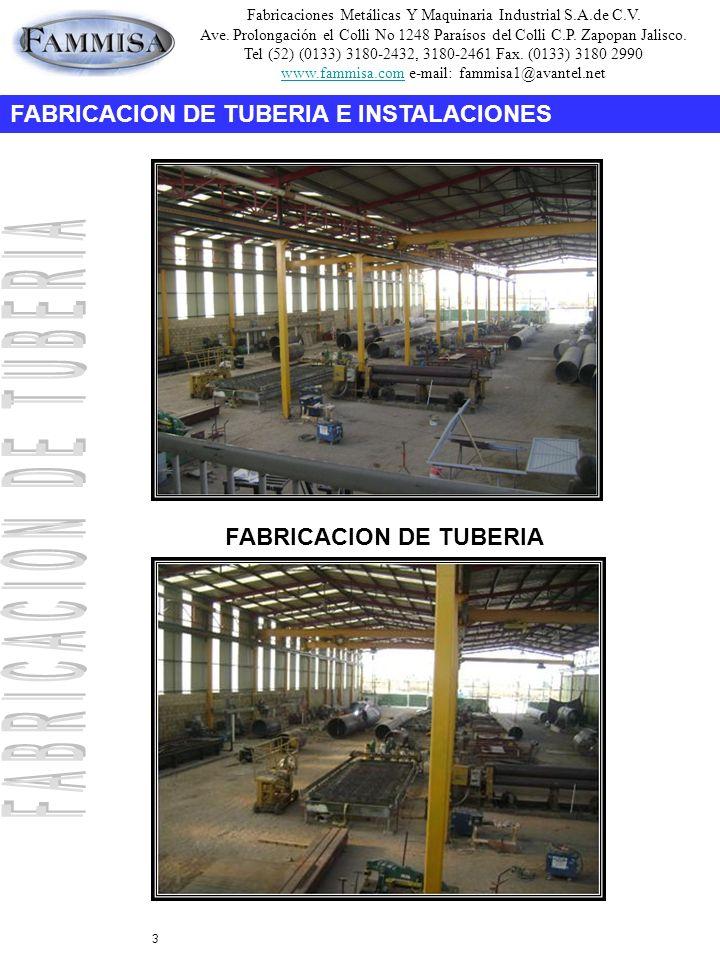 Fabricaciones Metálicas Y Maquinaria Industrial S.A.de C.V.