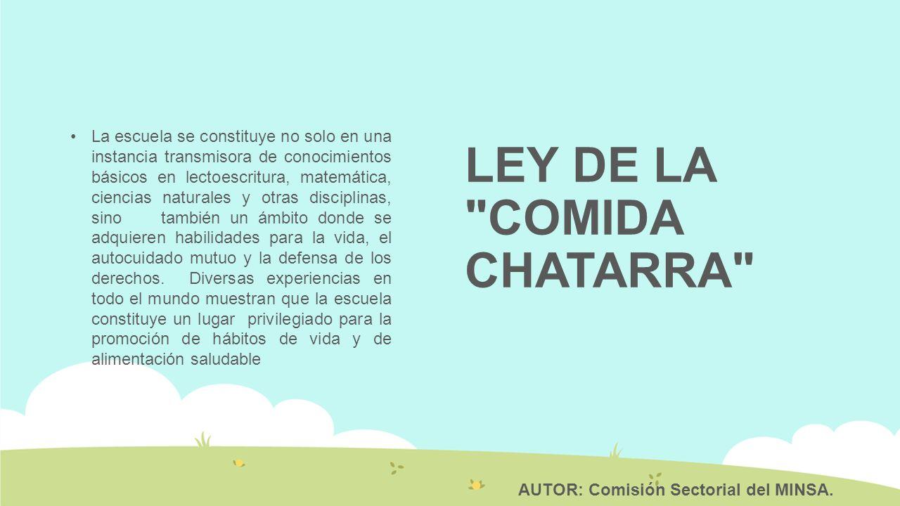LEY DE LA