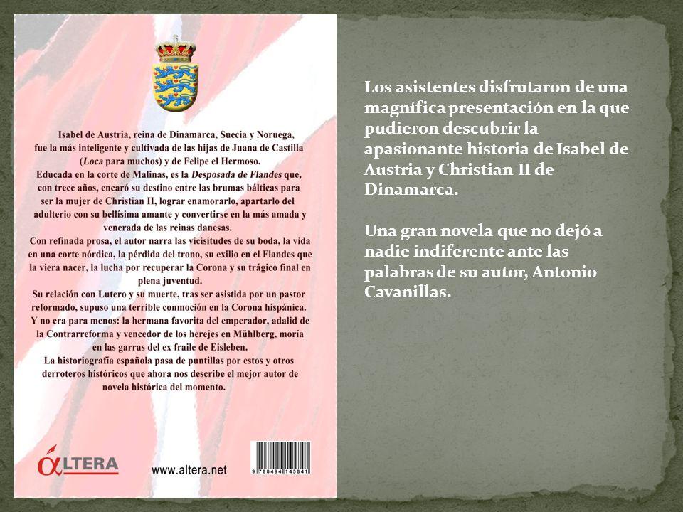 La novela de Antonio Cavanillas (izq.) es presentada por el musicólogo, compositor y promotor cultural Lothar Siemens