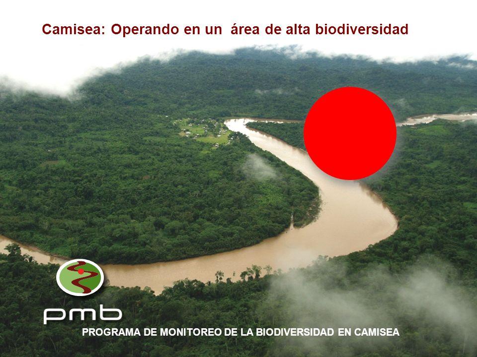 Camisea: Operando en un área de alta biodiversidad