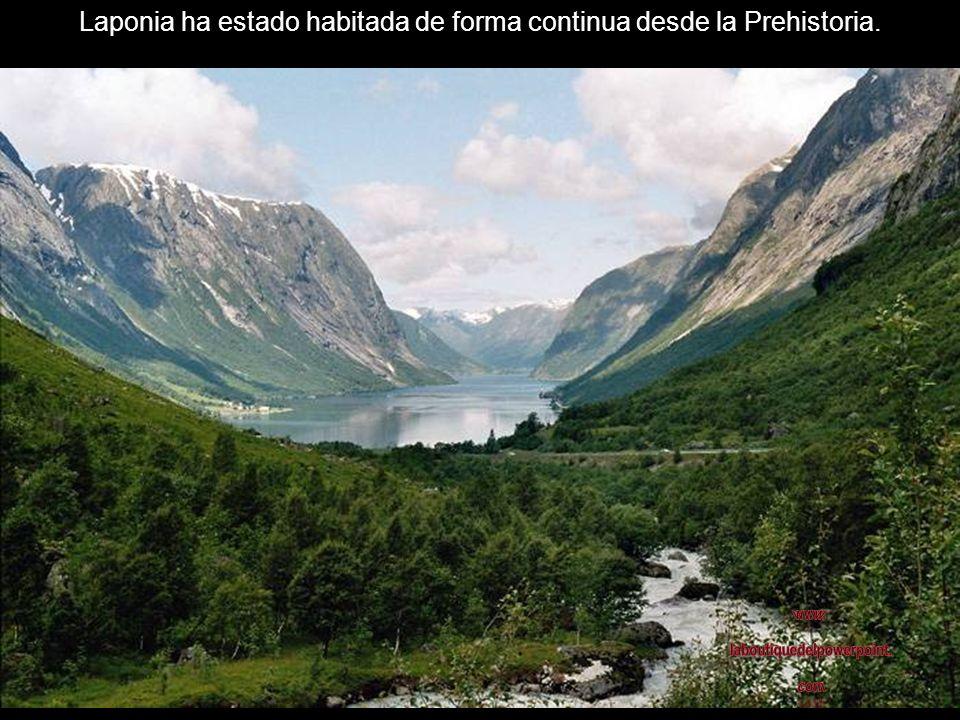 Laponia ha estado habitada de forma continua desde la Prehistoria.