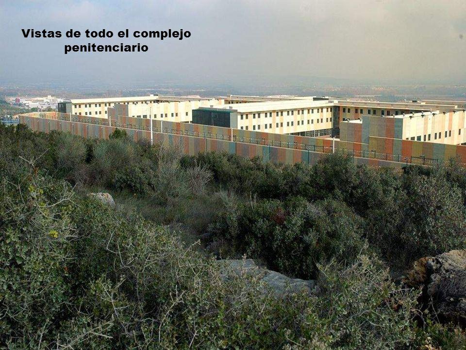 Vistas de todo el complejo penitenciario