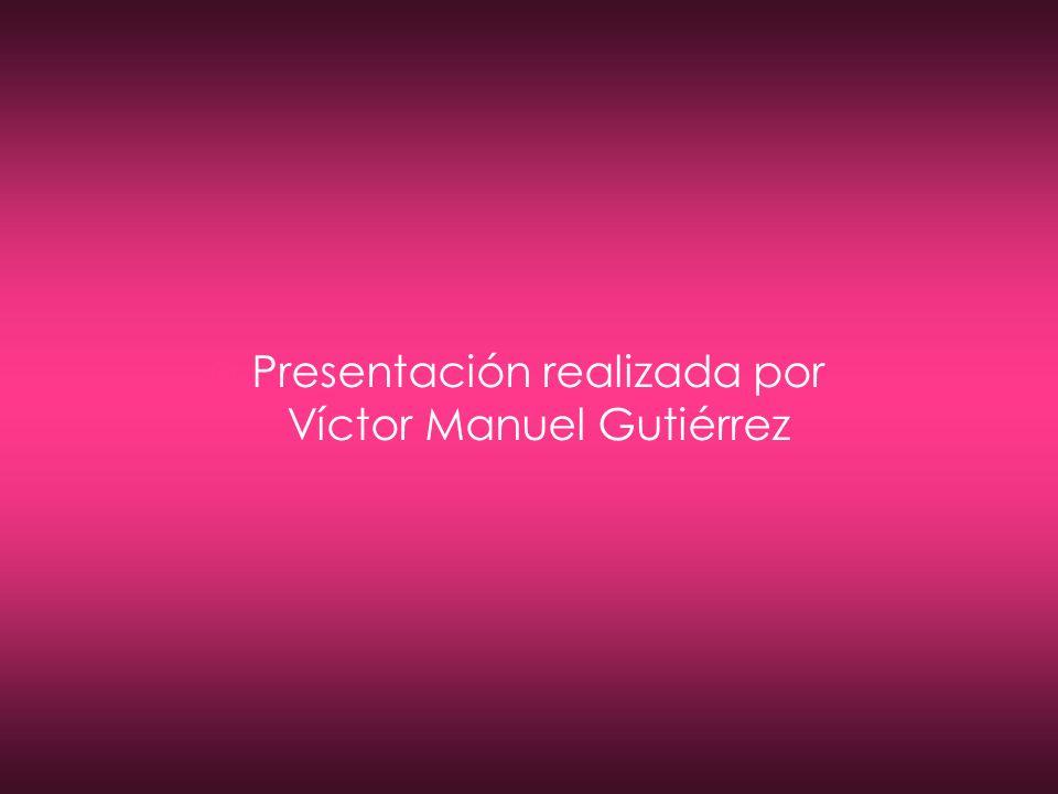 Presentación realizada por Víctor Manuel Gutiérrez