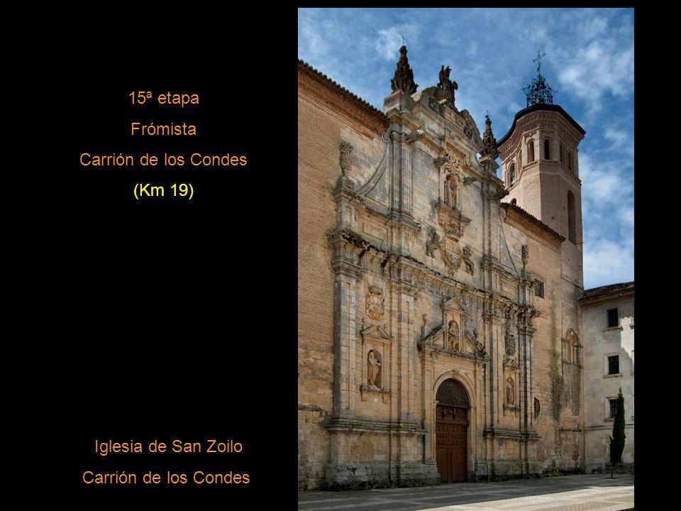 14ª etapa Castrojeriz Fromista (Km 25) Iglesia de San Martín de Tours (Frómista)
