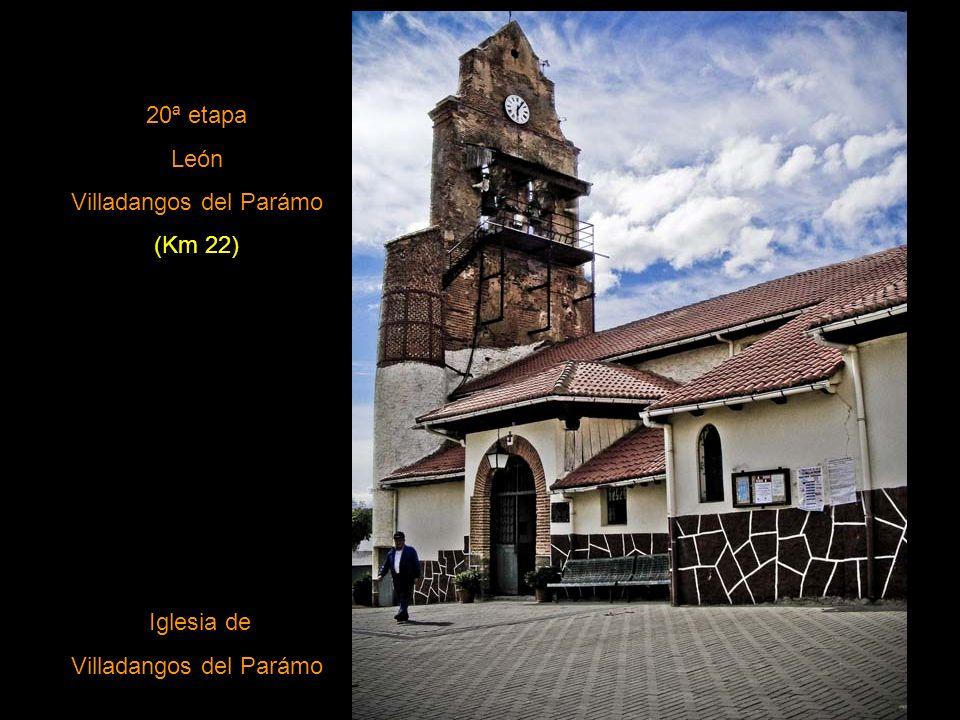 19ª Mansilla de las Mulas León (Km 20) Catedral de León (vista lateral)