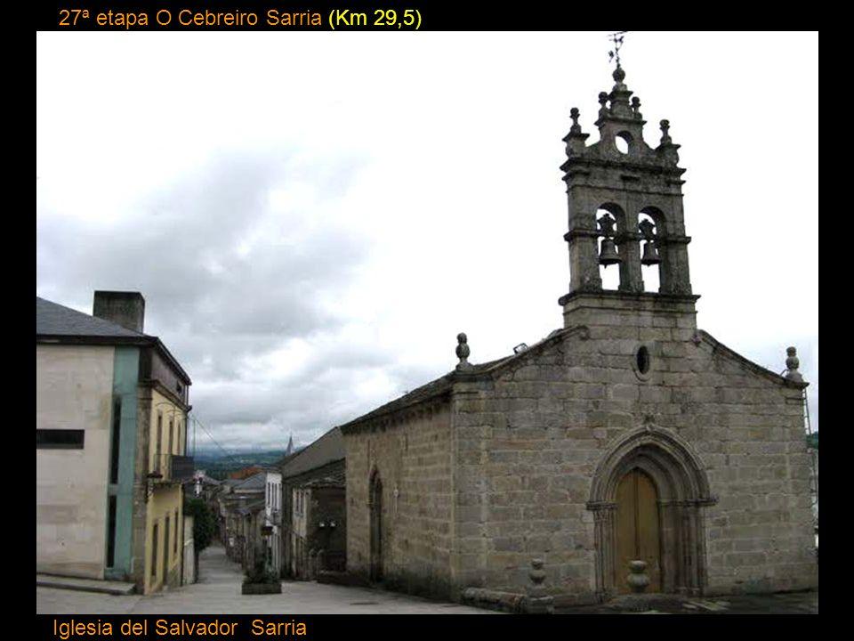 26ª etapa Vega de Valcarce O Cebreíro (Km 12) Iglesia de Santa Maria la Real O Cebreiro