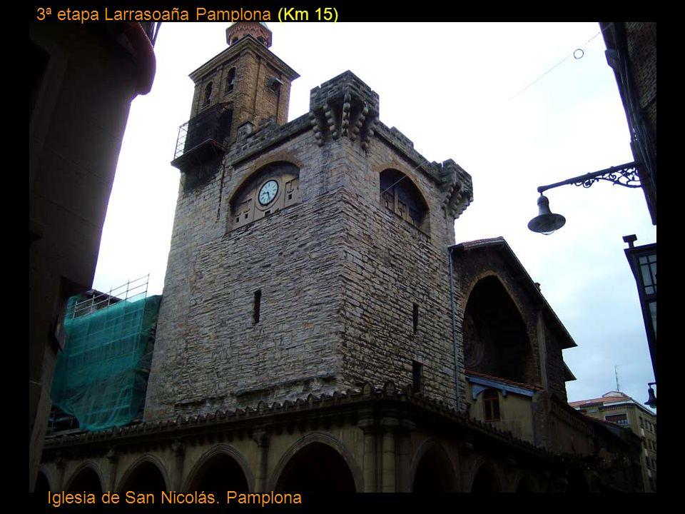 13ª etapa Burgos Castrojeriz (Km 38) Iglesia colegiata de Santa María del Manzano siglo XIII Castrogeriz