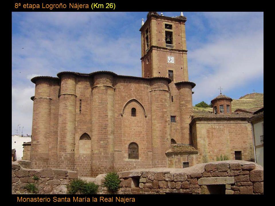 7ª etapa Los Arcos Logroño (Km 27,5) Iglesia de Santiago (Logroño)