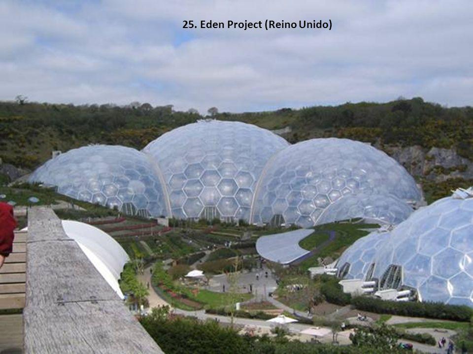 25. Eden Project (Reino Unido)