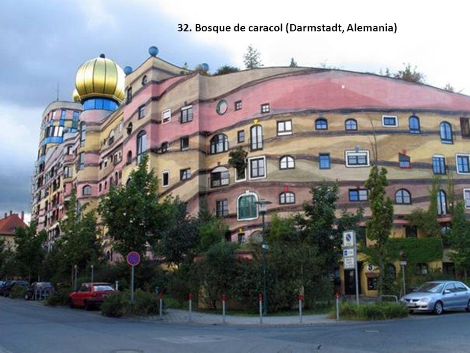 32. Bosque de caracol (Darmstadt, Alemania)