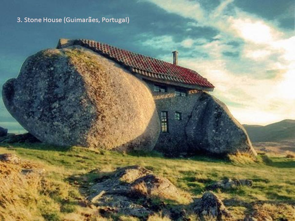 3. Stone House (Guimarães, Portugal)