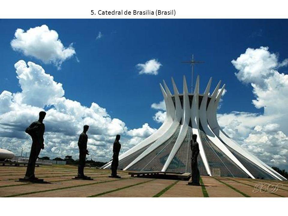 5. Catedral de Brasilia (Brasil)