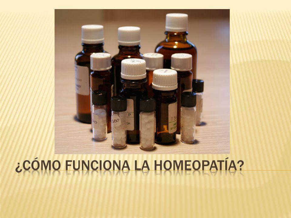 Esta ley dice que una sustancia que cause los mismos síntomas que tiene el paciente curará su enfermedad.