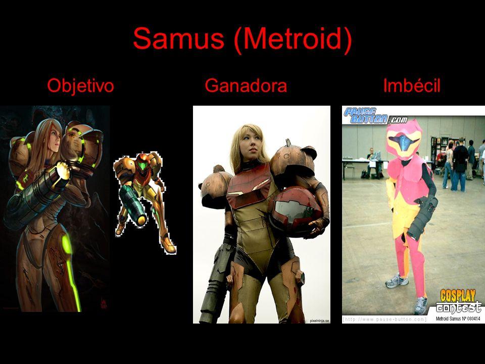 Samus (Metroid) Objetivo Ganadora Imbécil
