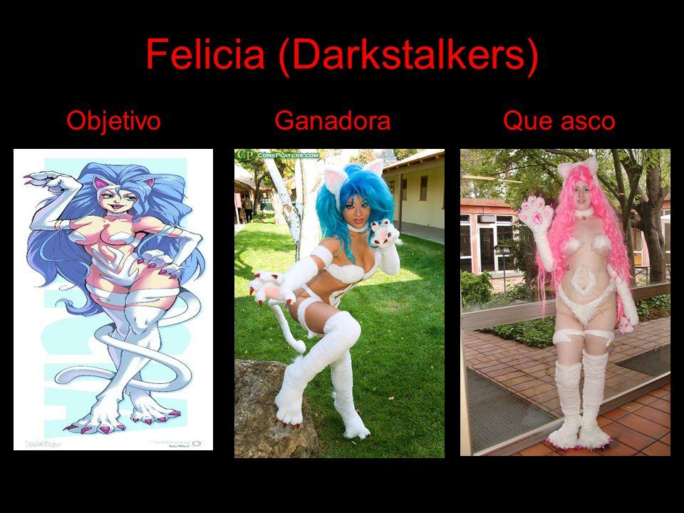 Felicia (Darkstalkers) Objetivo Ganadora Que asco