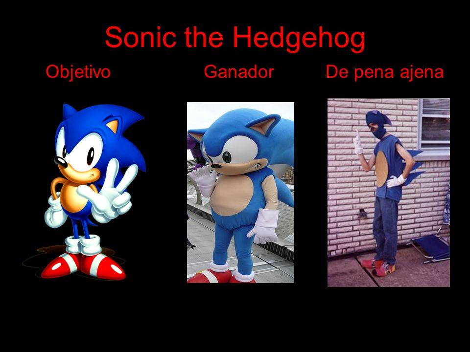 Sonic the Hedgehog Objetivo Ganador De pena ajena