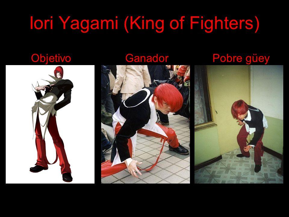 Iori Yagami (King of Fighters) Objetivo Ganador Pobre güey