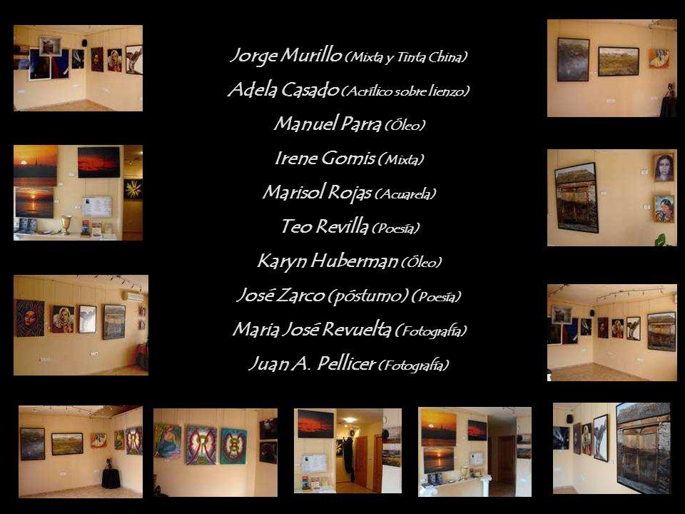 I Exposición Multidisciplinar Colectiva Con el Alma y en silencio Los 4muros de Jpellicer Octubre/Diciembre 2009 Cartagena