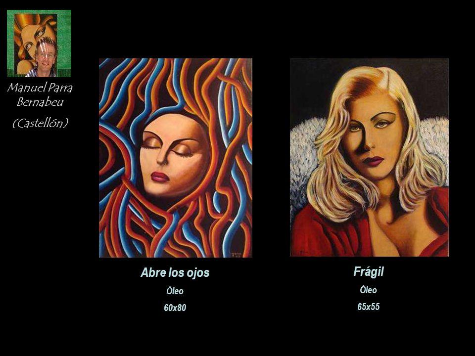 Adela Casado Cano (Málaga) Alianza Acrílico sobre lienzo 65x81 La Pregunta Acrílico sobre lienzo 65x81