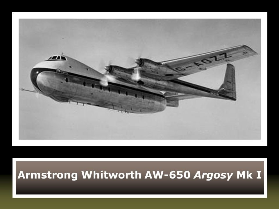 Armstrong Whitworth AW-650 Argosy Mk I