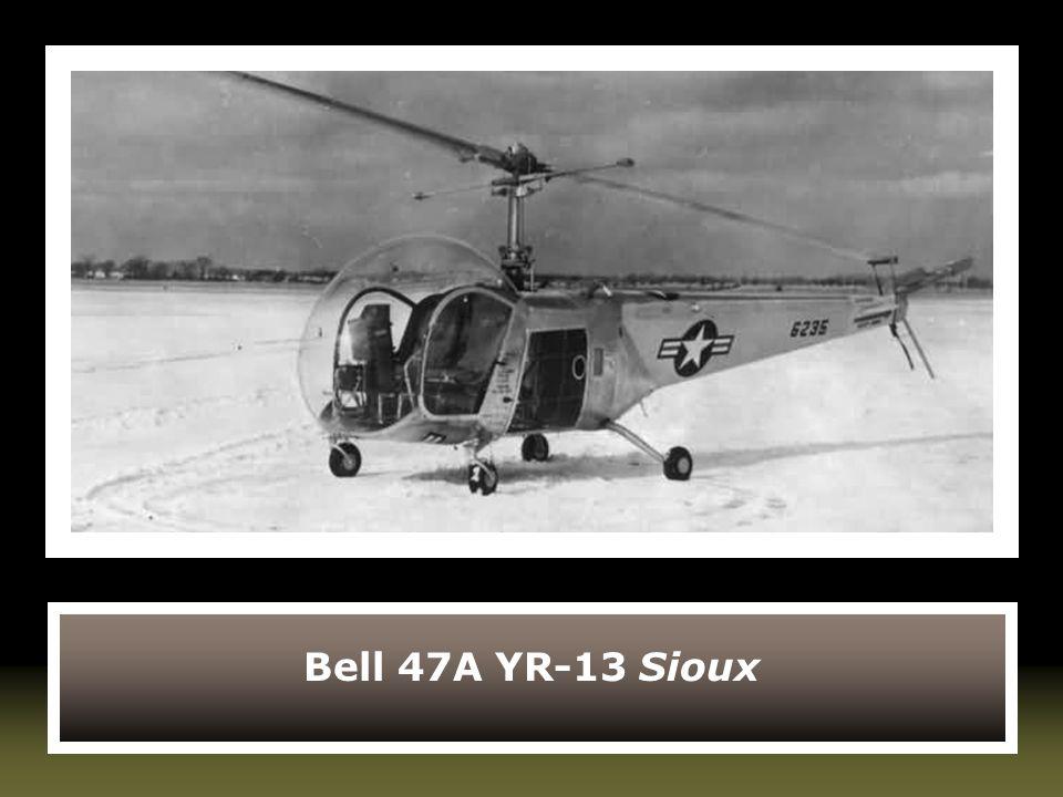 Bell 47A YR-13 Sioux
