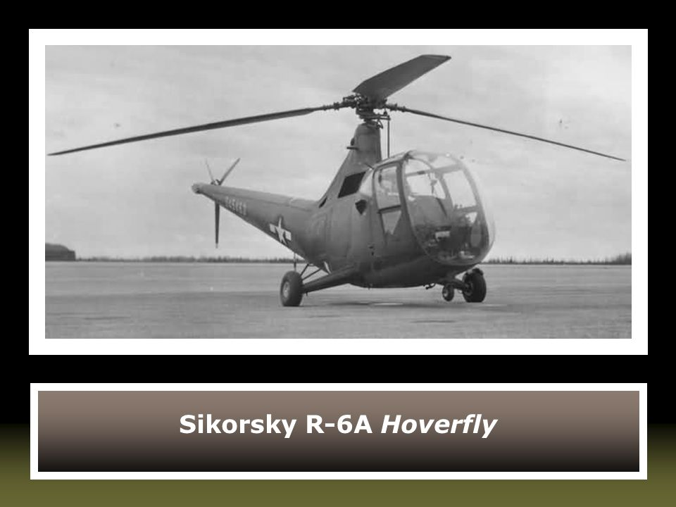 Sikorsky R-6A Hoverfly
