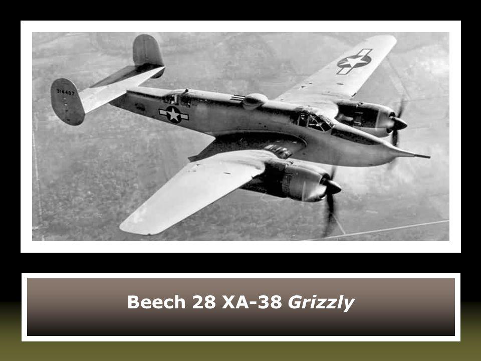 Beech 28 XA-38 Grizzly