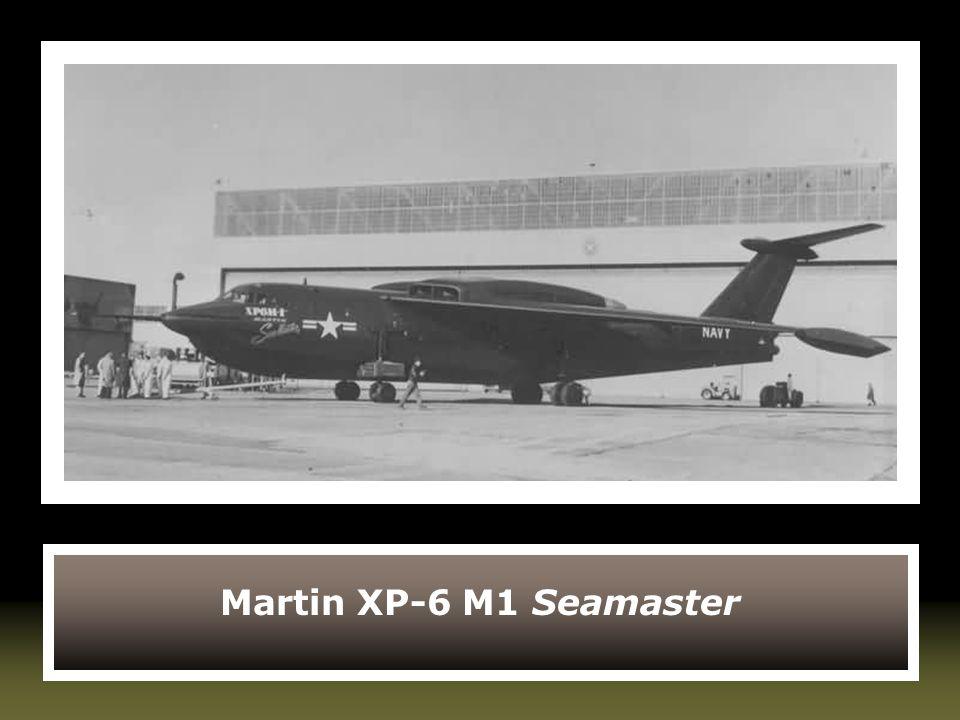 Martin XP-6 M1 Seamaster