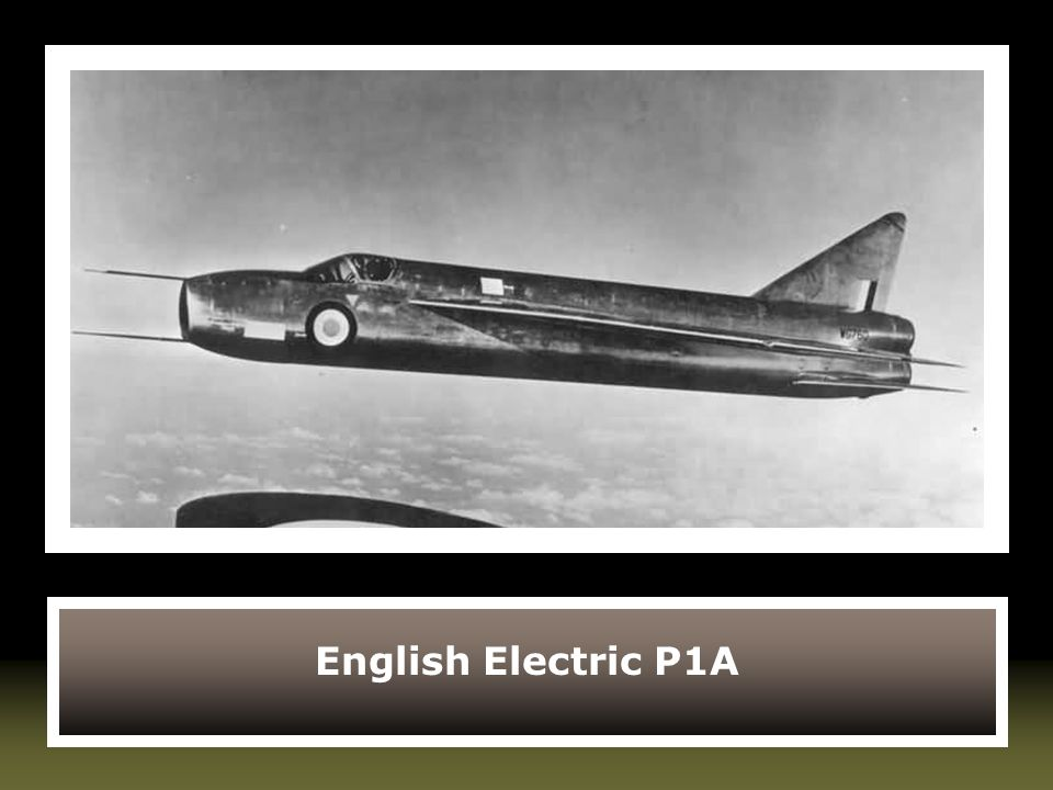 English Electric P1A