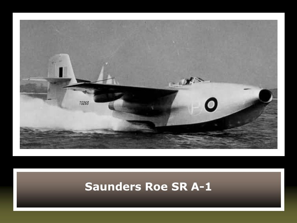 Saunders Roe SR A-1