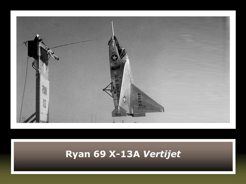 Ryan 69 X-13A Vertijet