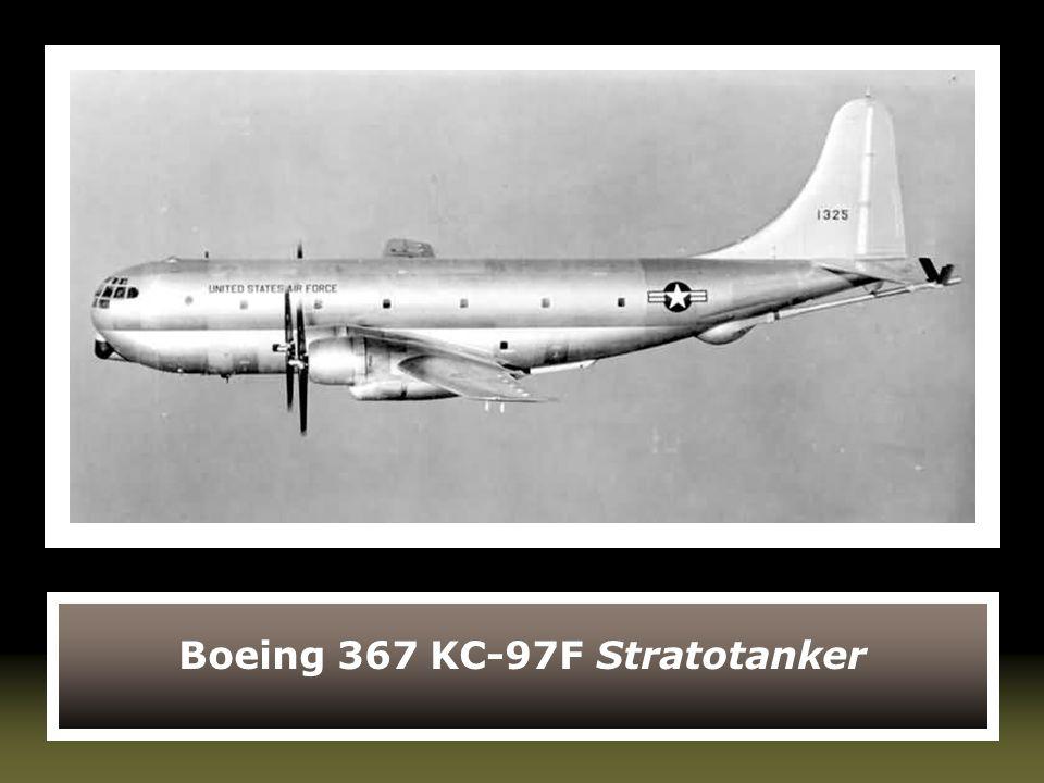 Boeing 367 KC-97F Stratotanker