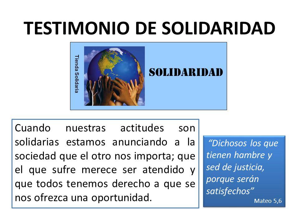 ESFUERZO Tienda Solidaria TESTIMONIO DE ESFUERZO Sin esfuerzo nada tiene sentido.