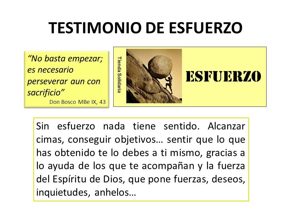 servICIO Tienda Solidaria TESTIMONIO DE SERVICIO ¿De qué sirve todo lo que hacemos si no lo ponemos al servicio de...