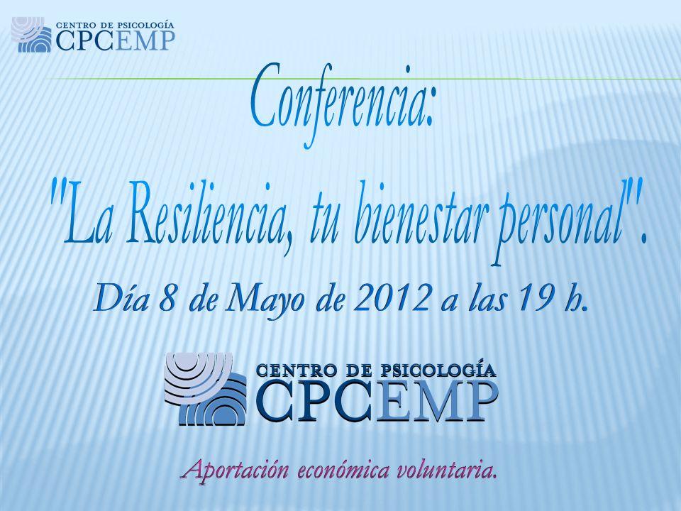 Eva Mª Pérez Pedroche Psicóloga colegiada nº M-17518 Coach y Directora Tlfno.: 610.296.165.