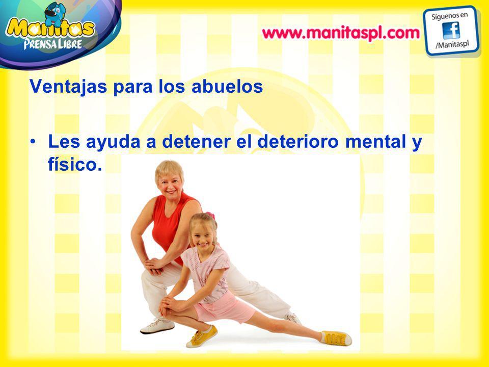 Les ayuda a detener el deterioro mental y físico.