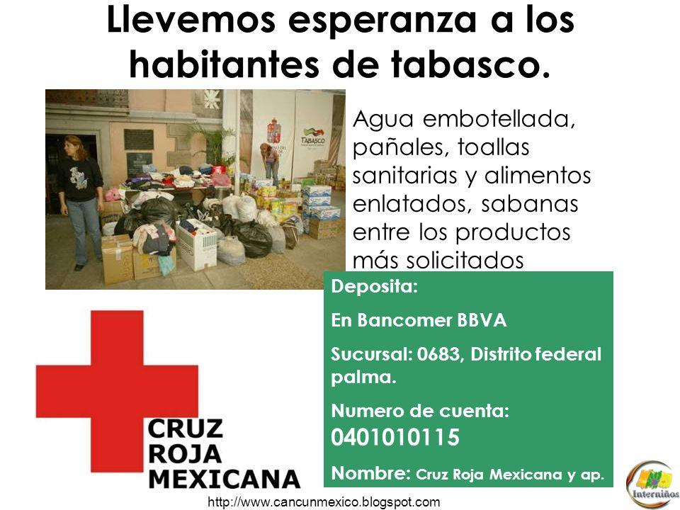 http://www.cancunmexico.blogspot.com ESPERAN SER RESCATADAS POR LAS BRIGADAS DE AUXILIO. *Tres cuartas partes de la ciudad están inundadas. El Gobiern