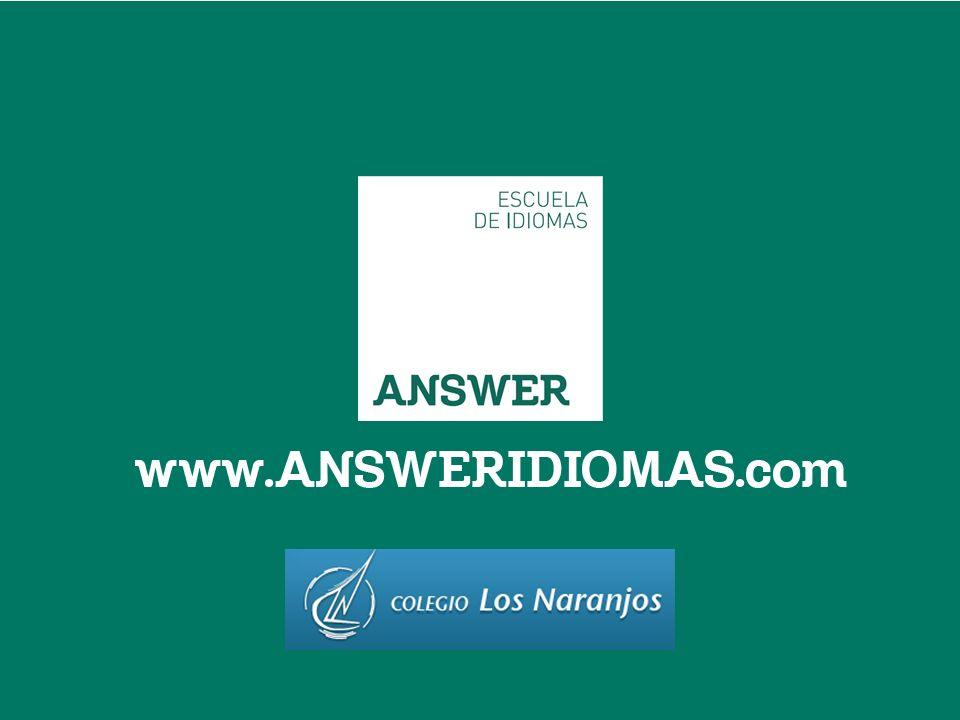 CLASES EXTRAESCOLARES Y ESCUELA DE INGLÉS Colegio Los Naranjos