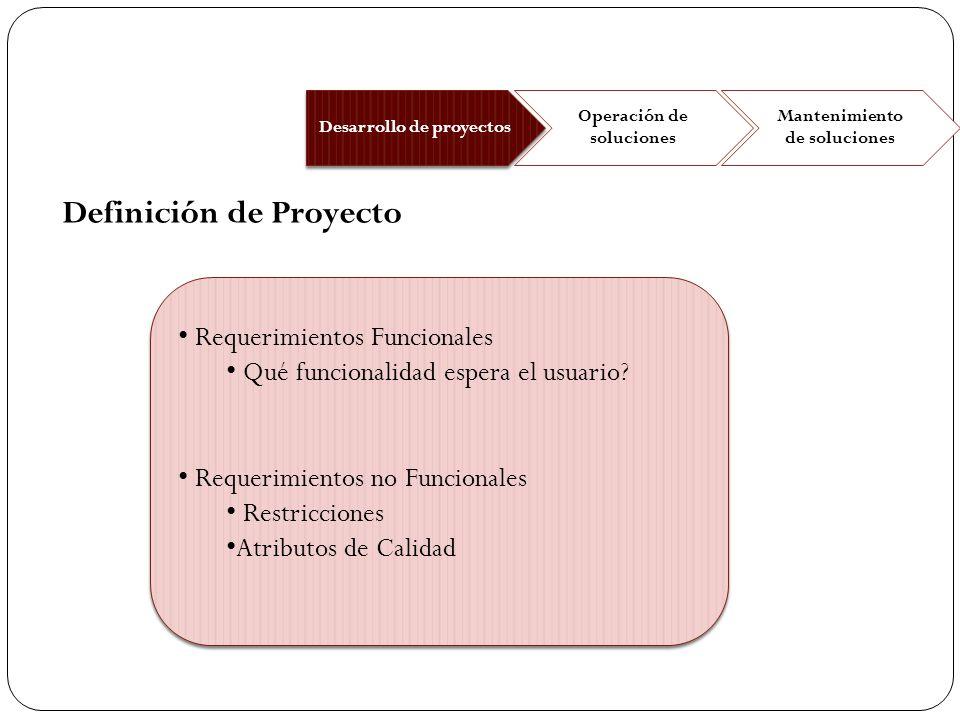 Requerimientos Funcionales Qué funcionalidad espera el usuario? Requerimientos no Funcionales Restricciones Atributos de Calidad Requerimientos Funcio